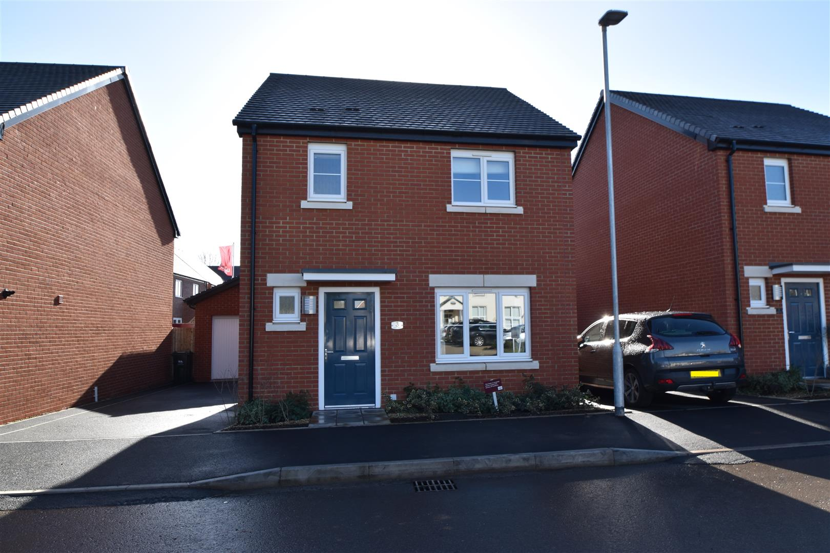 3 Bedrooms Detached House for sale in Lawnspool Drive, Kempsey, Worcester